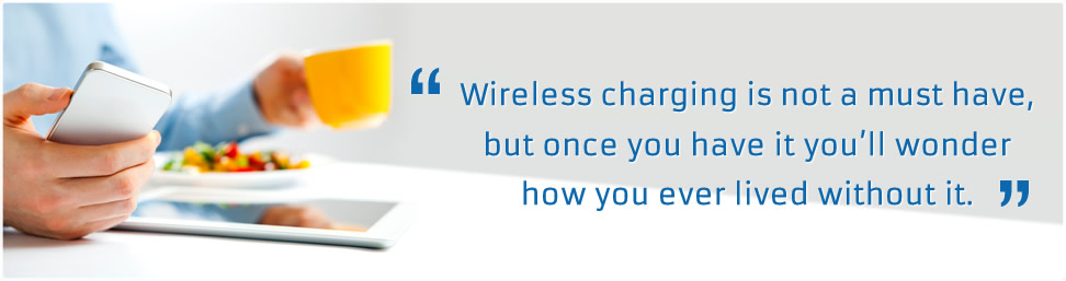wireless charging in the high street
